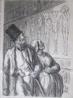 GRAVURE  1867 Dessin De Peulot    Exposition Universelle   Section égypte - Non Classés