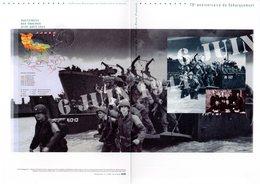 """FRANCE 2014 """" 70 ANS DU DEBARQUEMENT """" Sur Document Philatélique Officiel N°YT 4863. Parfait état DPO - 2. Weltkrieg"""
