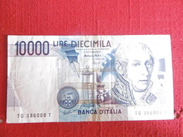 BILLET-ITALIE-10000 LIRES DE 1984 - [ 2] 1946-… : Républic