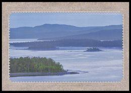 RUSSIA 2010 ENTIER POSTCARD 118/1 Mint MURMANSK Region KANDALAKSHA GULF NORD MOUNTAIN MONTAGNE NATURE FOREST 202 - Philatélie Polaire