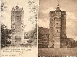 Rotselaer / Rotselaar : Le Donjon De L'ancien Château Terheyden / Toevluchtsoord Terheide ---- 2 Kaarten - Rotselaar