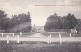Carte 1910 Le BOURG ST LEONARD / LE CHATEAU / VUE D'ENSEMBLE - France