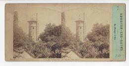 ENGHIEN LES BAINS POMPE A FEU PHOTO STÉRÉO CIRCA 1860 FURNE ET TOURNIER  /FREE SHIPPING REGISTERED - Photos Stéréoscopiques