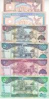 SOMALIA SOMALILAND 20 50 100 500 1000 5000 Shilling 2002 2015 P3 4 5 6 20 21 UNC - Somalia