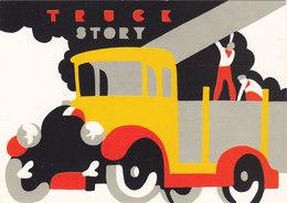 """IVECO / Cartolina Pubblicitaria """" TRUCK STORY """"  _ La Storia Della Casa In Cartolina - Camion, Tir"""