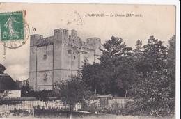 Carte 1910 CHAMBOIS / LE DONJON DU 12 IEME SIECLE - France