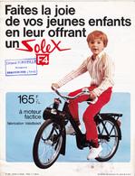 Publicité 1 Feuillet 21 X 27 SOLEX F4 Jouet Pour Enfant Mobylette 2 Roues (2 Scans) - Publicités