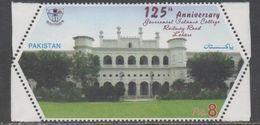 PAKISTAN, 2017, MNH, GOVERNMENT ISLAMIC COLLEGE, RAILWAY ROAD, ARCHITECTURE, 1v - Architettura