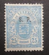 LUXEMBURG  1881  Dienstzegels  Nr. 33 - I       Zonder Gom  (*)    CW  90,00 - Officials