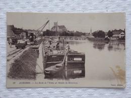 AUXERRE - Les Bords De L'Yonne Au Moulin Du Bâtardeau - CPA - Carte Postale - Auxerre