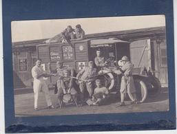COBLENCE  ( ALLEMAGNE )  CARTE PHOTO MILITAIRE - Armée Du RHIN  -  Ambulance Croix Rouge  -   KOBLENZ - War 1939-45
