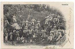 TONKIN Légionnaires En Colonne  ..G - Viêt-Nam