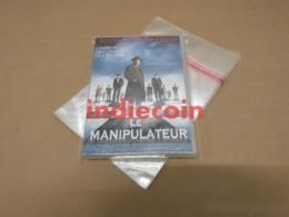 Lot 100 Pochettes Protection Boitiers DVD Simples / Pochette Plastique Polypropylène 30 Microns - DVDs
