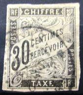 Colonies Françaises               TAXE 9            OBLITERE - Postage Due