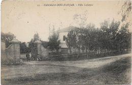 Algérie HAMMAM BOU HADJAR Villa Lafargue   ..G - Otras Ciudades