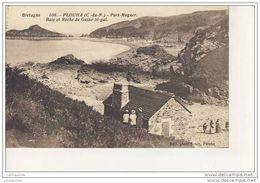 Plouha Port Moguer Baie Et Rocche De Guiné Zé Gal Cpa Bon état - Plouha
