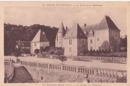 Carte 1930 LA CHAPELLE SOUEF / CHATEAU DES FEUGERETS - France