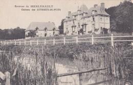 Carte 1915 ENVIRONS DU MERLERAULT / CHATEAU DES AUTHIEUX DU PUITS - France