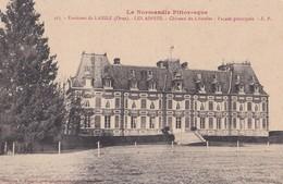 Carte 1910 ENVIRONS DE LAIGLE / LES ASPRES / CHATEAU DU CHATELET / Façade Principale - France