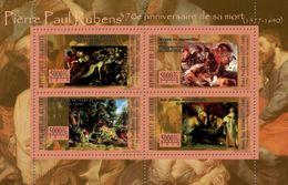 GUINEA 2010 - PP Rubens, Swan - YT 5352-5; CV = 10 € - Swans