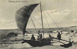 Fishing Boat Ceylon Recto Verso - Sri Lanka (Ceylon)