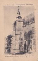 Carte 1910 ALMENECHES / PORTE ET CLOCHER DE L'EGLISE - France