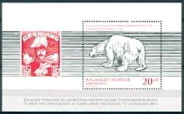 Groenland 2013 Blok 75 Jaar Post PF-MNH - Unused Stamps