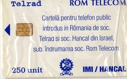 TELECARTE NEUVE SOUS BLISTER - Roumanie