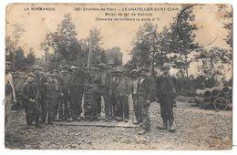LE CHATELLIER SAINT CLAIR - Mines De Fer De Halouze - Descente De Mineurs Au Puits N° 2 (état Moyen) - France