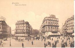 Bruxelles - CPA - Place De La Bourse - Lanen, Boulevards