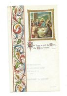 IMAGE PIEUSE...Communion De Veronique Et Jean François LETASSEY, Eglise Sainte Croix De SAINT LO (50) En 1974 - Images Religieuses