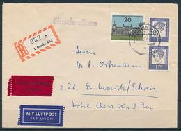 Berlin - Brief Per Einschreiben / Luftpost / Eilzusellung  ~ 1965 - Berlin (West)
