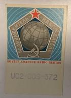 AK  SOVIET AMATEUR RADIO STATION - Amateurfunk