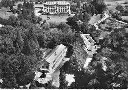 31 - BARBAZAN THERMAL La Source Et Le Foyer Des Veuves - CPSM Dentelée Noir Blanc GF écrite 1955 - Haute Garonne - Barbazan