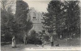 Oise ESQUENNOY Ruines Du Chateau Grande Route  Animation    ..G - Otros Municipios