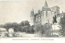 France - Charente - Angoulême - Environs - Château De La Rochefoucault Et La Tardoire - Publicité Au Verso - 4605 - Angouleme