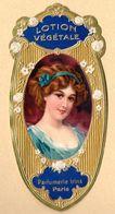 (Paris) )  (parfum) Belle  étiquette LOTION VEGETALE Parfumerie IRINA (PPP7508) - Pubblicitari
