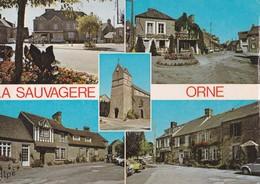 Carte 1975 LA SAUVAGERE / MULTIVUES - France