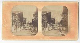 SUISSE MEIRINGEN PHOTO STÉRÉO CIRCA 1855 FERRIER PARIS CACHET A SEC /FREE SHIPPING REGISTERED - Photos Stéréoscopiques