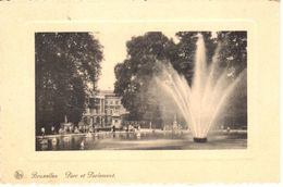 Bruxelles - CPA - Parc Et Parlement - Bossen, Parken, Tuinen