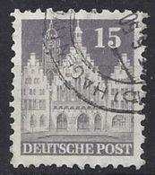 Germany 1948-52 Alliierte Besetzung  (o)  Mi.82 Wg A W F - Zone Anglo-Américaine