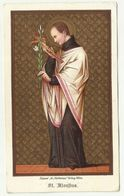 Saint  Aloysius  Holy Card Depose St. Norbertus Wien - Santini