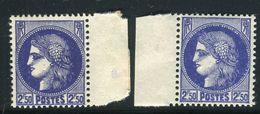 France - N°375A , Variété, 1 Clair + 1 Foncé ,neufs Luxe - Ref V355 - Variedades Y Curiosidades