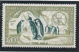 TAAF 1959 - YT PA N°2 - 50 F. - Faune -  Manchots Empereurs - NEUF** TTB Etat - Airmail