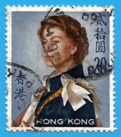 Hong Kong. 1962. Scott # 217.  Queen Elizabeth II $20 - Hong Kong (...-1997)
