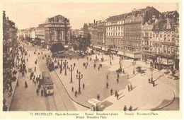 Bruxelles - CPA - Place De Brouckère - Places, Squares