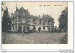 VIGLAIN CHATEAU DE BAFFOU CPA BON ETAT - France