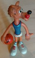 Basketball / Cibona Zagreb, Croatia / Old Sports Club Mascot - Wolf / 20 Cm - Apparel, Souvenirs & Other