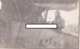 Avion Aviation Escadrille MF14 Corcieux Vosges Pilotes Moreau 1914 1918 WWI 1.wk - Guerre, Militaire