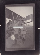 Avion Aviation Escadrille MF14 Corcieux Vosges Pilotes Et Observateur Moreau Blin 1914 1918 WWI 1.wk - Guerre, Militaire